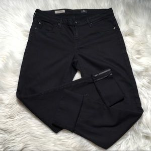 AG Adriano Goldschmied size 30 Black The Stevie